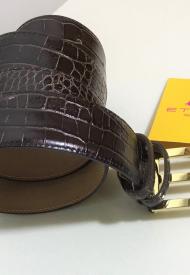 Etro Donna Cintura Stampa Cocco Modello 13378