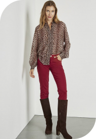 Camicia Donna Stampa Maculata MARKUP Colore Maculato Mod. MW86240