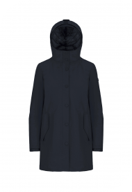 Parka Donna Lungo UP TO BE Colore Blu Mod. NASHI