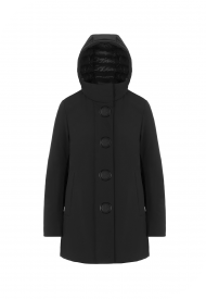 Parka Donna Corto UP TO BE Colore Nero Mod. TAIRA