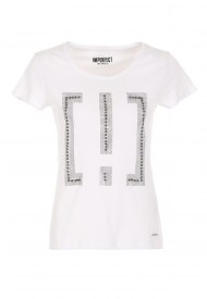 T-SHIRT IMPERFECT DONNA M/M G/C UNITO WOMAN WHITE IW20S14TG