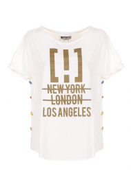 T-SHIRT IMPERFECT DONNA M/M G/C UNITO WOMAN WHITE IW20S15TG