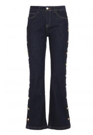 Pantalone Denim Donna IMPERFECT Colore Denim Scuro Mod. IW20W37PD